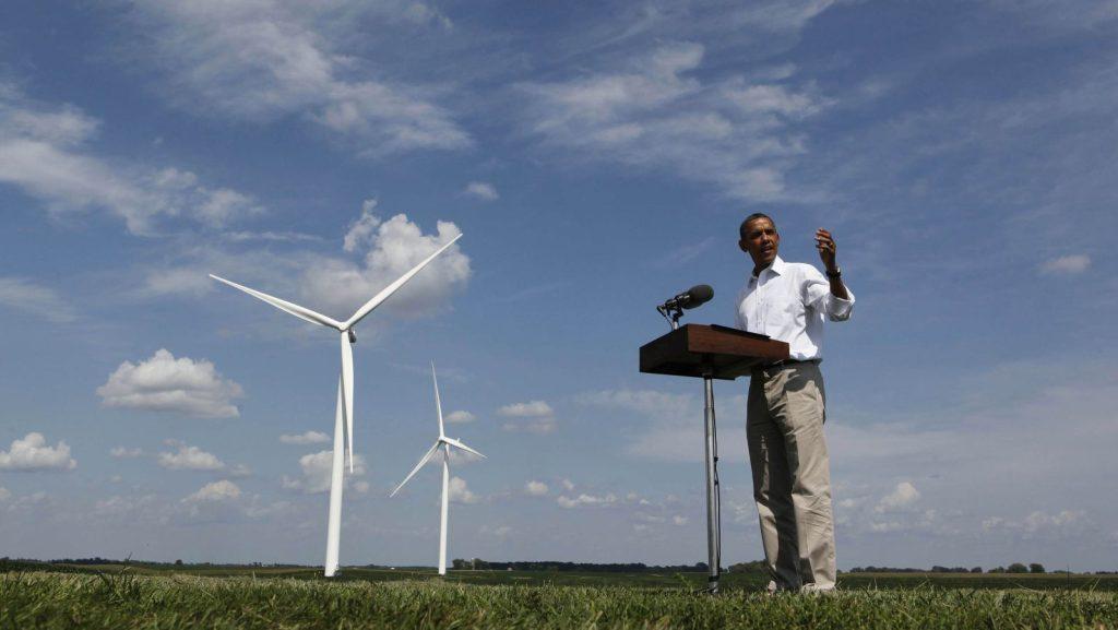 obama renewable energy climate change