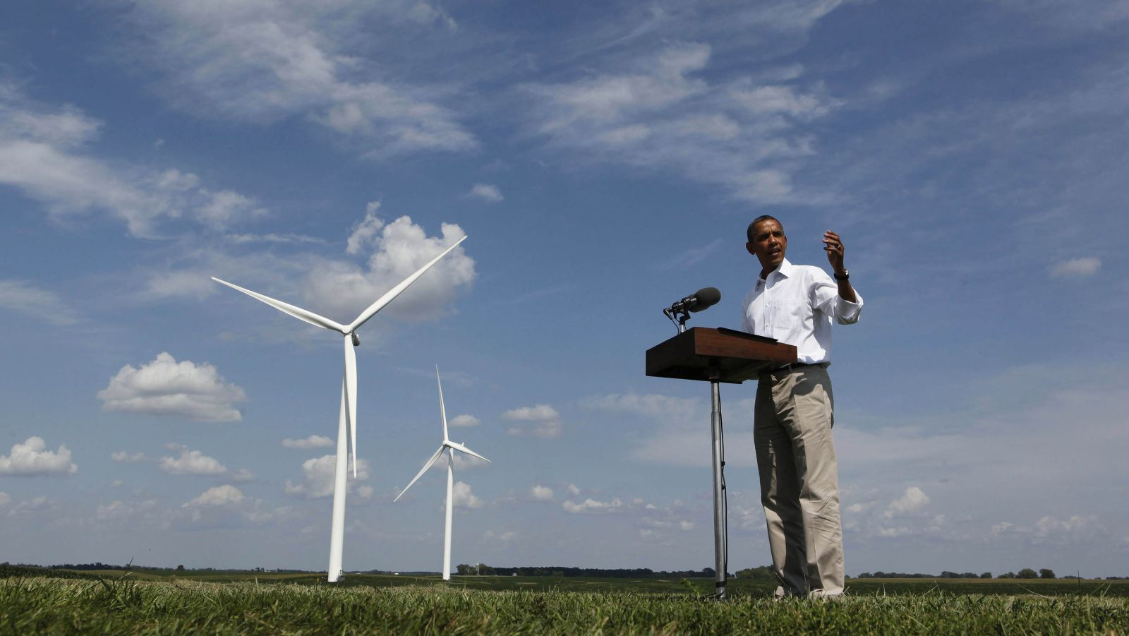 obama renewable energy climate change