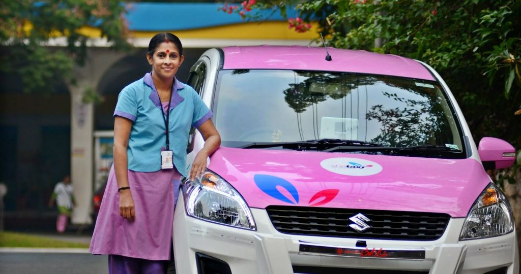 SheTaxi: mobility and entrepreneurship for women