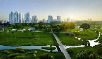 sustainable green city