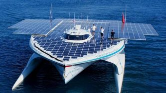 solar powered ship
