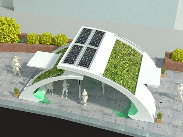 green bus stop design 2