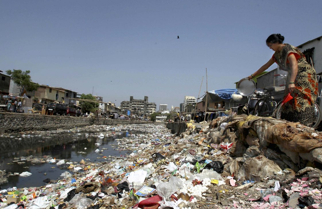 pollution waste and people