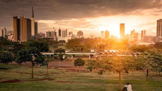 nairobi african city