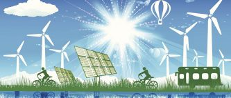 re100 renewable energy cities