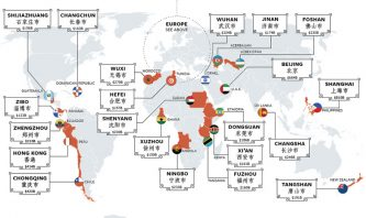 Chinese cities with rich GDP