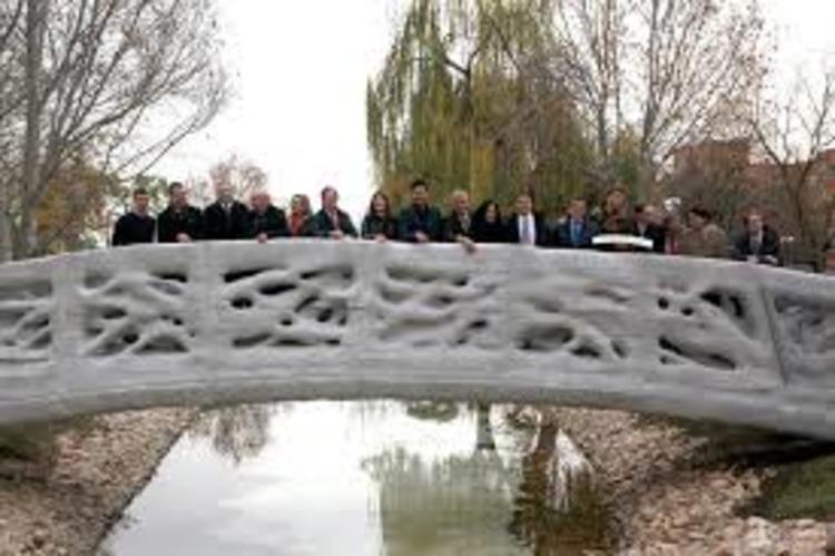 3D printed bridge Spain