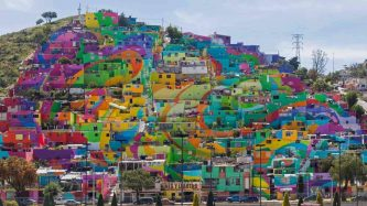 painted town mexico