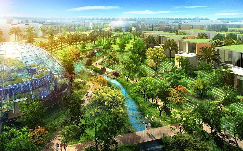 Central Park and Organic Farm